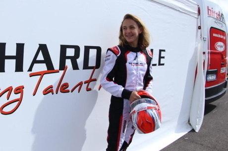 Juju participou do Mundial de Kart em 2019