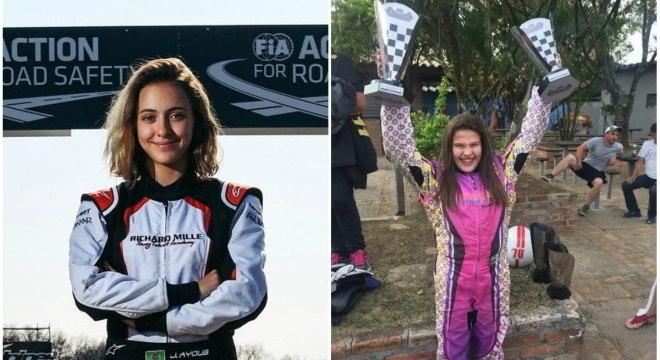 Juju Ayoub e Totti Bassani são as brasileiras que sonham com a Fórmula 1