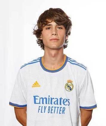 Julen Jon Guerrero (Espanha) - Clube: Real Madrid (Espanha) - Posição: Meia-ofensivo