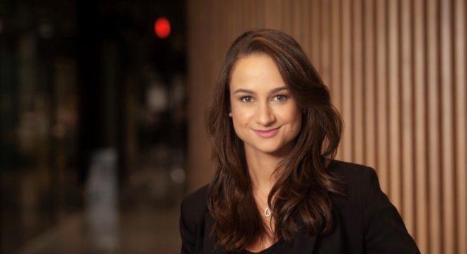 Julia Rueff, do Mercado Livre, é entrevistada no Inova360 - Foto: Divulgação