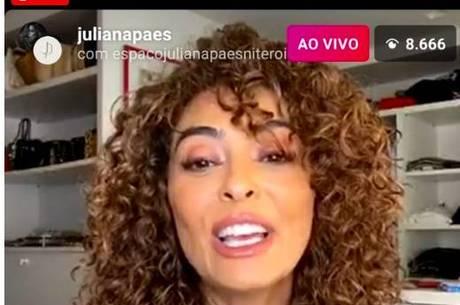 Juliana Paes não emplaca cachos em novelas