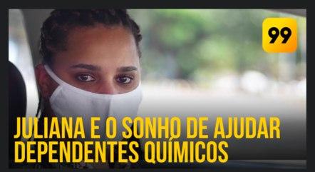 A futura psicóloga tem 34 anos e mora em Carapicuíba (SP)