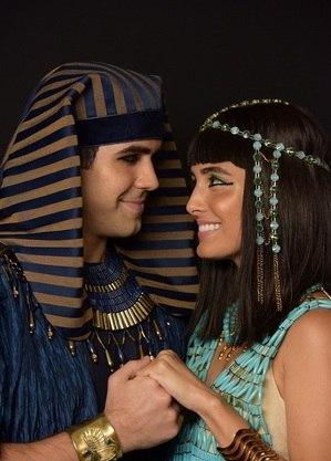 Juliano Laham(José)  e Leticia Almeida(Asenate)