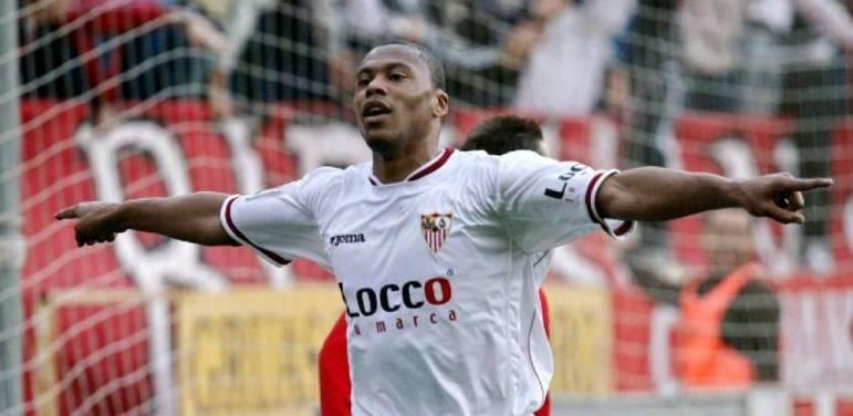 Júlio Baptista - 63 gols atuando por Sevilla, Real Madrid e Málaga