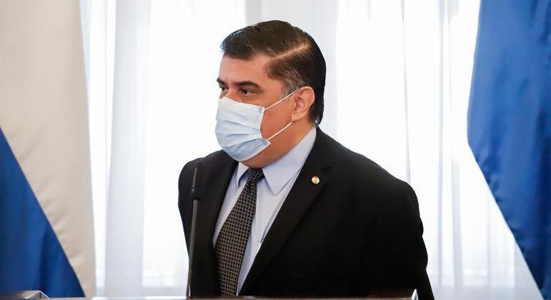 Julio Borba não apresentou sintomas da doença