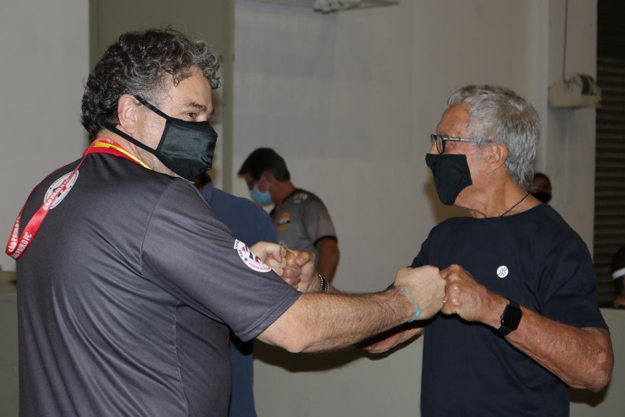 Julio Casares e Abilio Diniz são empresários e amigos. Declaração só afasta investidores
