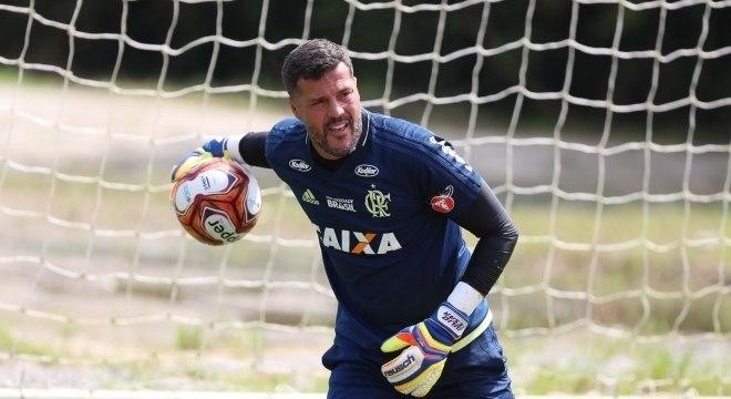 a43fdfdddb O goleiro Júlio César voltará a jogar pelo Flamengo após quase 14 anos