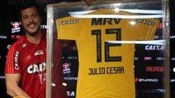 Julio Cesar se despede do Flamengo: 'Quero ter deixado algo de positivo'  ()