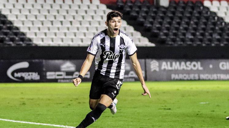 Julio Enciso (Paraguai) - Clube: Libertad (Paraguai) - Posição: Atacante