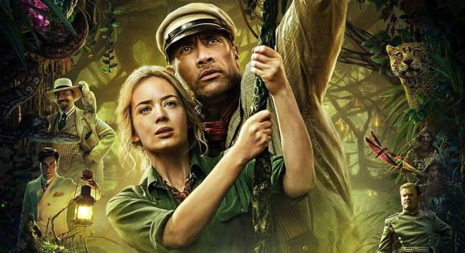 Dwayne Johnson e Emily Blunt são os protagonistas do filme 'Jungle Cruise'