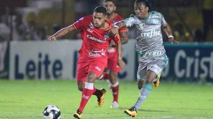 Juninho - Quem completava o meio-campo do Audax era Juninho, que estava emprestado pelo Palmeiras. O meia foi contratado pelo Paraná