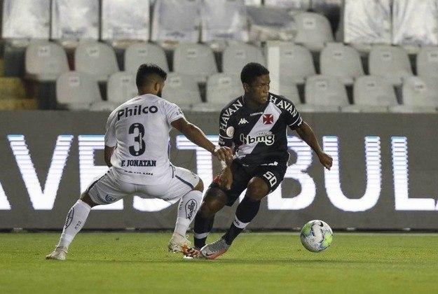Juninho - Um dos destaques do Vasco na partida contra o Madureira, chegou à 37ª partida pela equipe principal. Tem 20 anos.