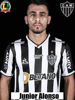 Junior Alonso - 6,0: Foi regular durante o jogo e impediu que o ataque palmeirense funcionasse na maior parte do tempo.