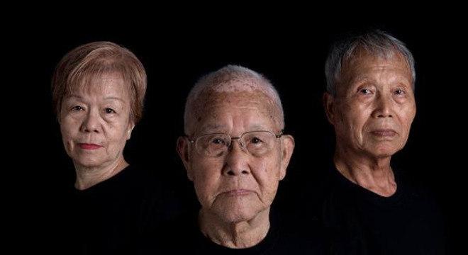 Da esq. p/ dir: Junko Watanabe, Takashi Morita e Kunihiko Bonkohara