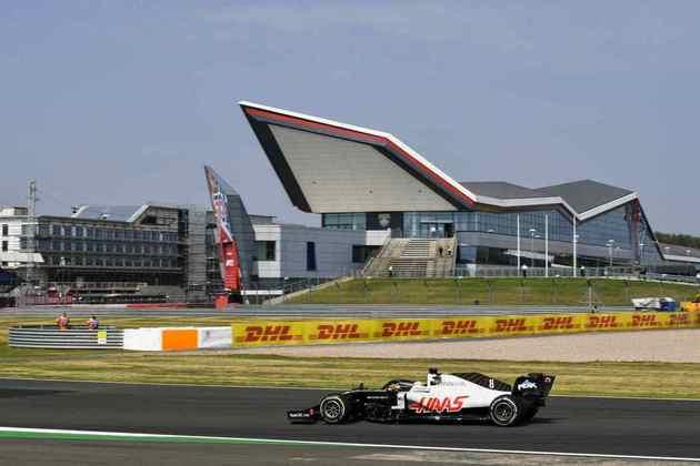 Junto de Räikkönen, Russell e Latifi, Grosjean é um dos únicos a não pontuar em 2020