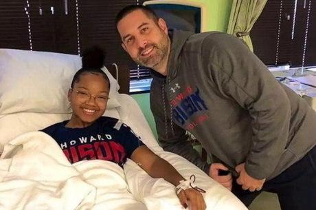 Treinador Kupferberg visitou Farrel em hospital