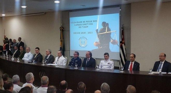 Evento aconteceu no Tribunal da Justiça Militar de São Paulo