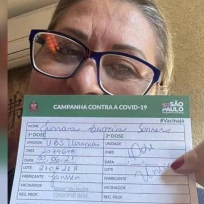 Veterinária foi contra orientação e tomou três doses de vacinas contra a covid-19