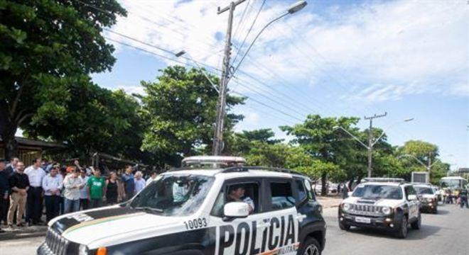 Justiça revogou ontem a detenção dos policias militares