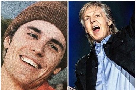 Justin Bieber confunde fotos de Paul McCartney