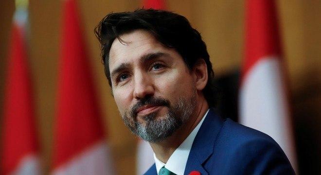O primeiro-ministro canadense Justin Trudeau deu parabéns a Biden