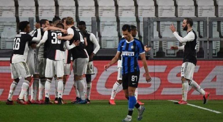 Em 8 de Março de 2020, Juve 2 X 0 Inter