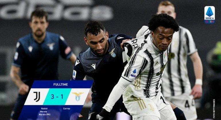 Juventus, um triunfo enfim tranquilo sobre a Lazio de Roma