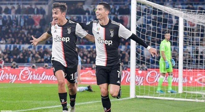 Dybala e Cristiano Ronaldo, a alegria vã do 1 X 0