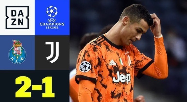 Cristiano Ronaldo, da Juventus, a única visitante que não venceu na rodada de ida