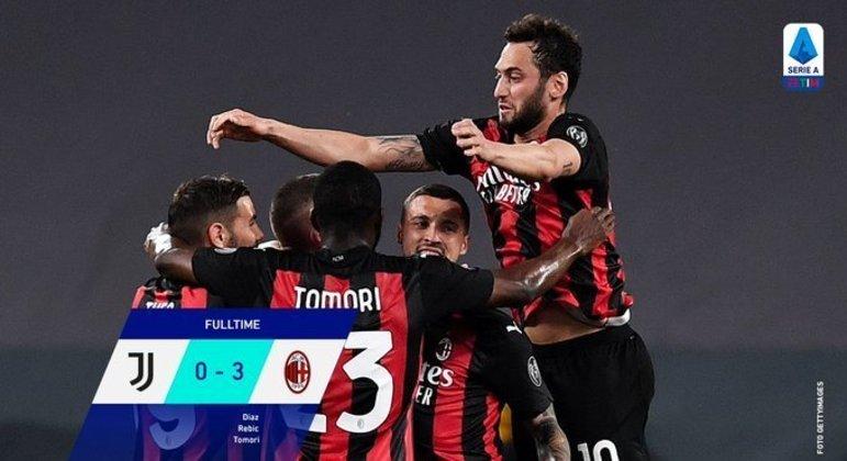 Na casa da Juventus, um Milan absolutamente arrasador