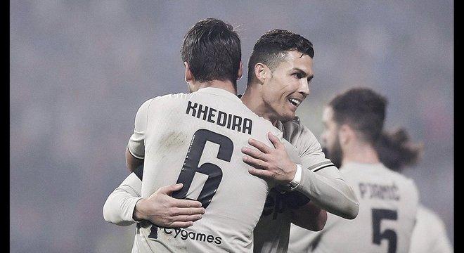 Juventus, 23 partidas, 21 vitórias e 2 igualdades