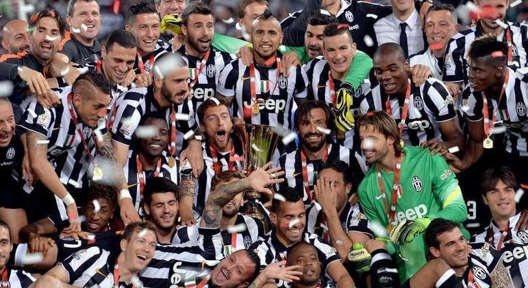 A Juventus de 2005, no total 13 títulos da Copa Itália