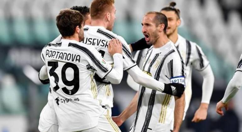 A vibração do capitão Chiellini, na sua 15ª temporada com a Juventus