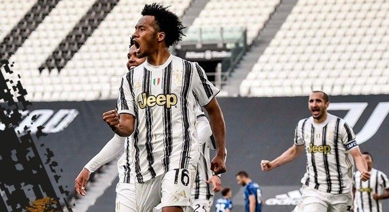 A Juventus, um Cuadrado primoroso