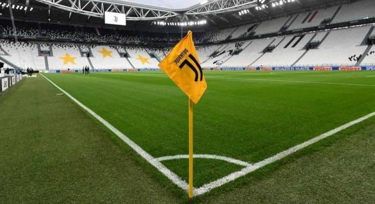 O Allianz Stadium, da Juve, à espera da visita do Milan