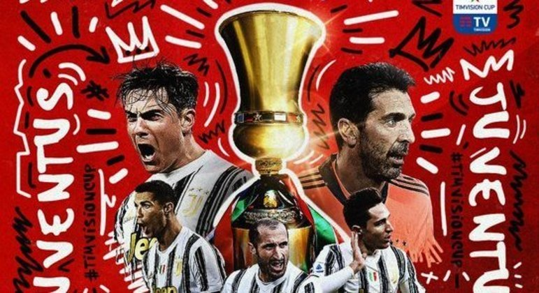 A capa do Twitter da Juventus