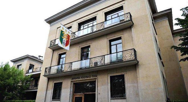 """A sede da """"Senhora"""", no Corso Galileo Ferraris 32"""
