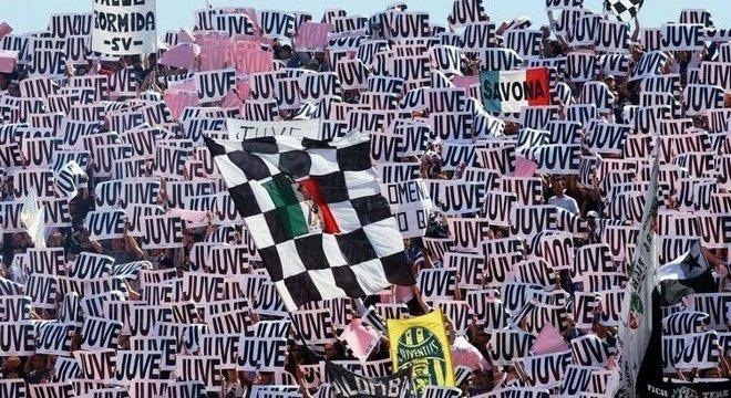 Representação virtual da torcida da Juventus