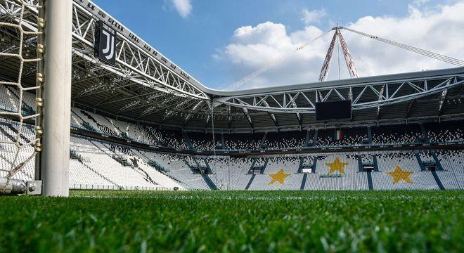 O Allianz Stadium de Turim