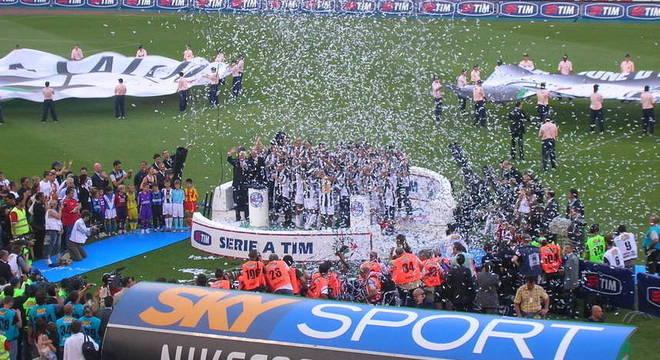 A comemoração do título de 2005, posteriormente revogado