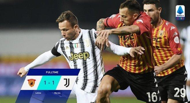 Sem Cristiano Ronaldo, o inesperado em Benevento