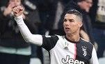 Juventus: Cristiano Ronaldo - 117 milhões de euros - Consagrado no Real Madrid após a conquista de quatro taças da Champions, CR7 queria respirar novos ares e seu destino foi a Juventus, após os italianos pagarem 117 de euros pelo craque português.