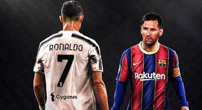 Cristiano Ronaldo e Messi são os grandes craques da atual geração