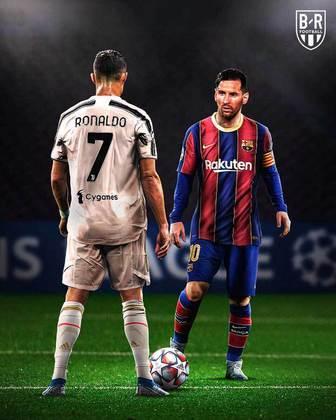 Juventus e Barcelona caem no mesmo grupo da Champions e fato rende memes com Cristiano Ronaldo e Messi