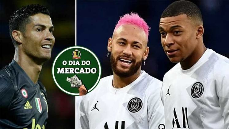 Juventus estuda troca com clube inglês e pretende envolver Cristiano Ronaldo no negócio para facilitar o andamento. O diretor esportivo do PSG comentou sobre como está sendo o processo de renovação dos seus dois principais jogadores. Tudo isso e muito mais no Dia do Mercado de sábado.