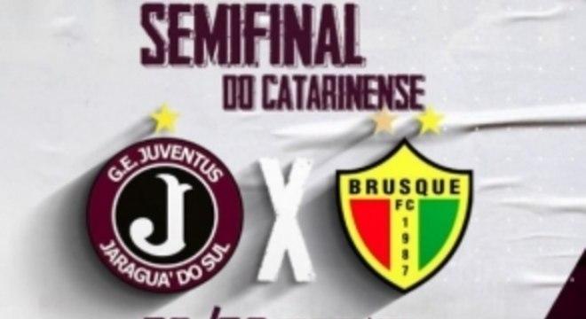 Juventus x Brusque - Chamada