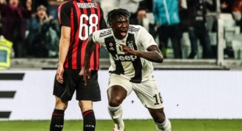Juventus x Milan - Kean
