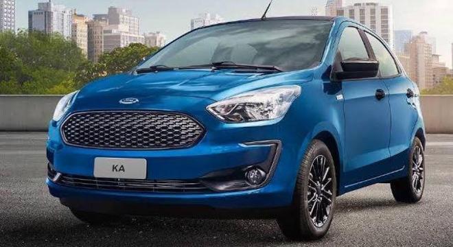 Com o fim da linha para Ford Fiesta e Focus, o Ka se tornou o único hatch e sedan da montadora.