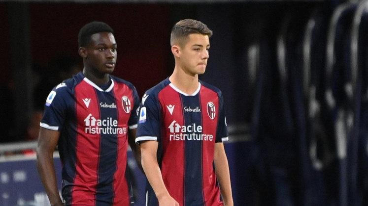 Kacper Urbanski (Polônia) - Clube: Bologna (Itália) - Posição: Meia-ofensivo