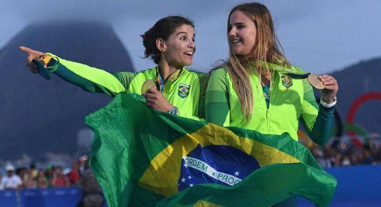 Martine e Kahena no Rio/2016